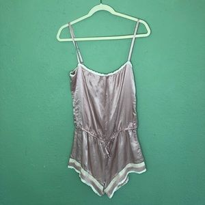 345058b253ef0 Oysho Intimates & Sleepwear | Soft Pink Silk Blend Sleep Romper Size ...